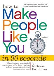 Nicholas Boothman - How to Make People Like You in 90 Seconds or Less