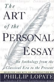 Philip Lopate - The Art Of Personal Essay