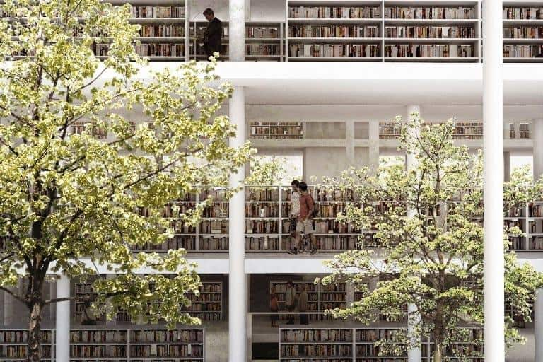 books and trees