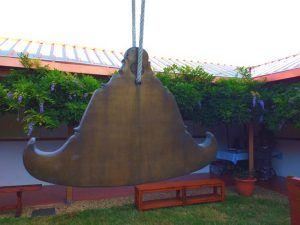 Buddhist Gong, Vipassana Meditation Center, Barcelona