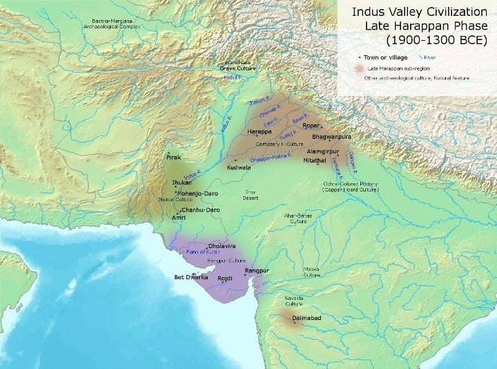 indus_valley_civilization_late_phase_1900-1300_bce