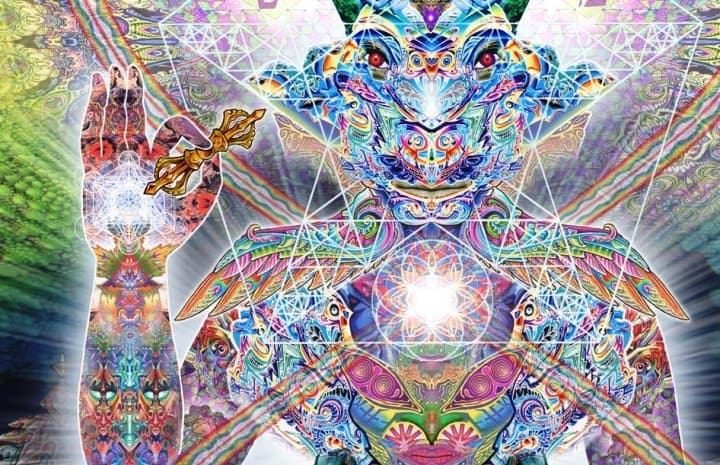 entities from the dmt experience rafal reyzer