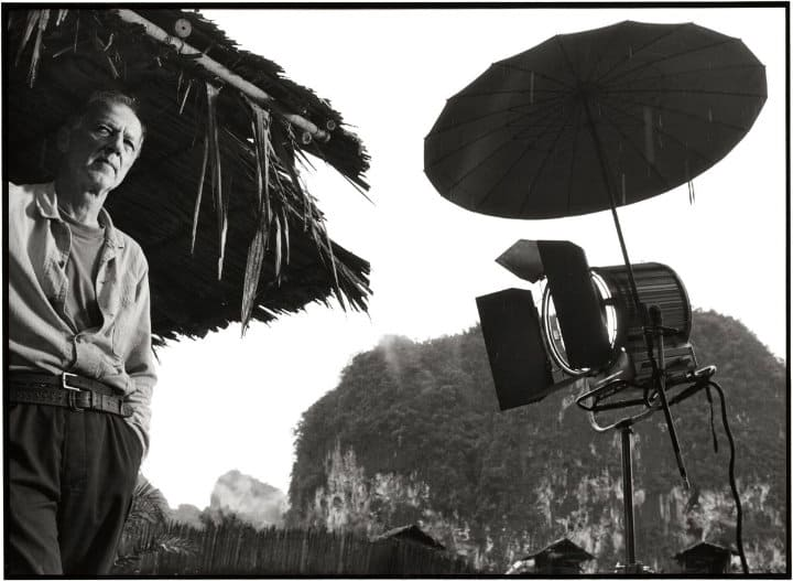 herzog on the set of rescue dawn