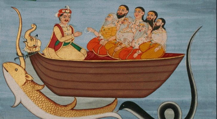 manu and the seven sages