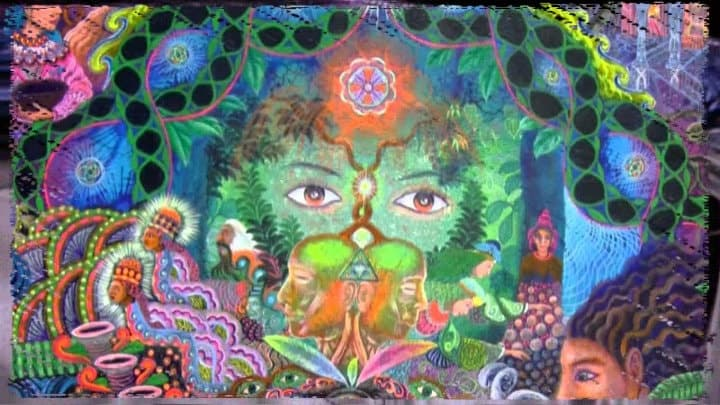 the psychedelic vision painting