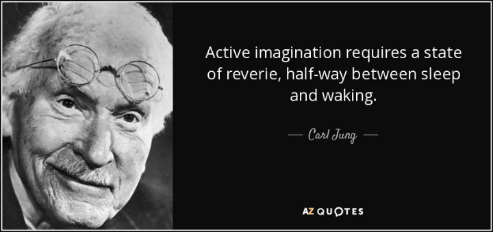 carl jung active imagination quote