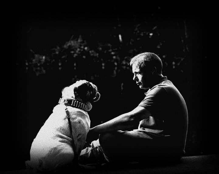 relationship between a man and a dog