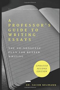 professors guide to writing essays cover