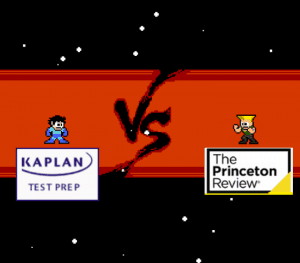 kaplan vs princeton review graphic