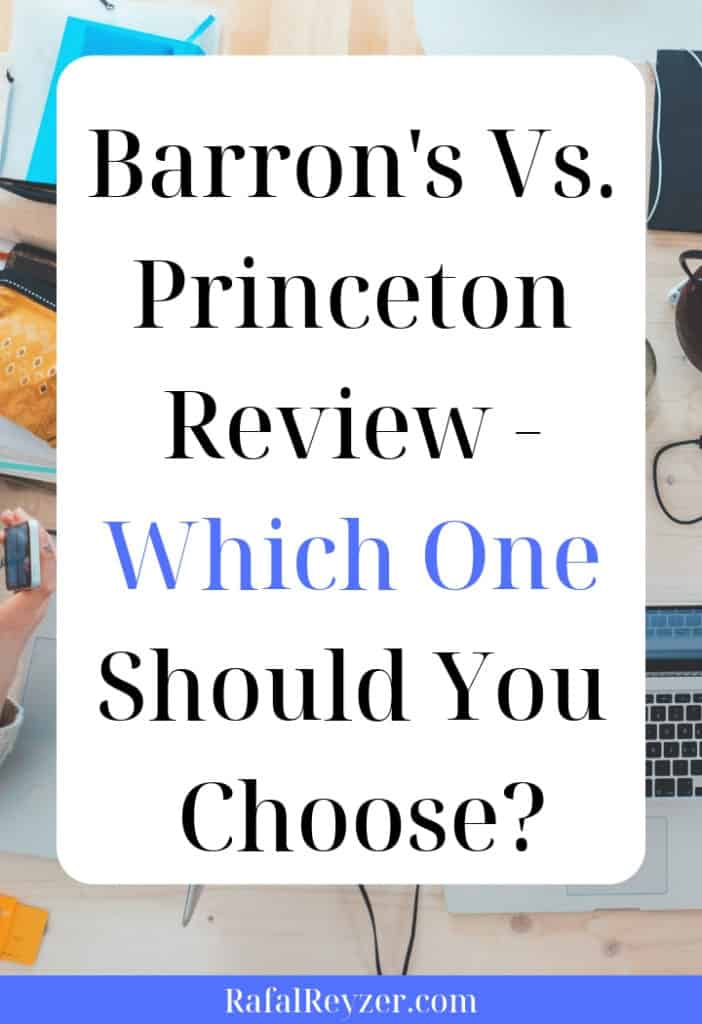 Barron's Vs. Princeton Review - Which One Should You Choose pinnable graphic
