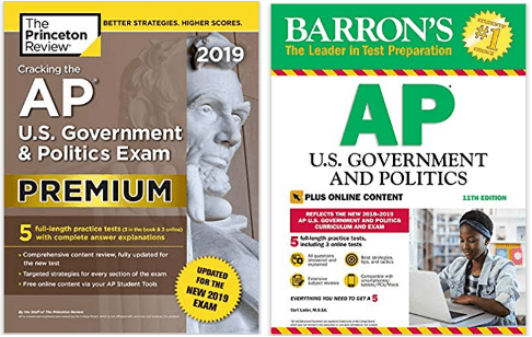 barrons vs princeton review ap books