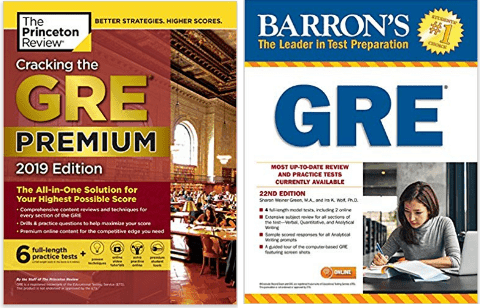 barrons vs princeton review gre books