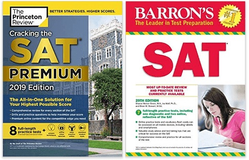 barrons vs princeton review sat books
