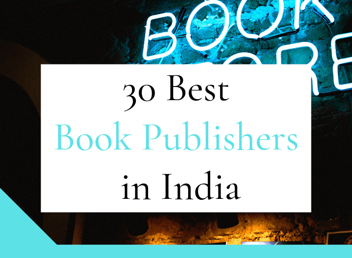 30 Best Book Publishers in India - featured image