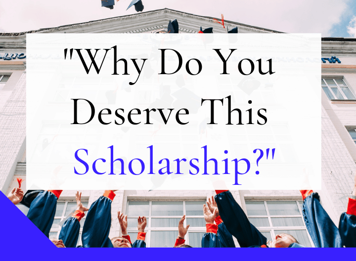 Why Do You Deserve This Scholarship - featured graphic