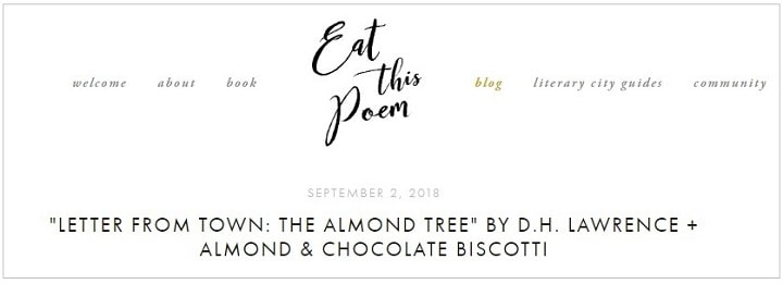 eat this poem blog