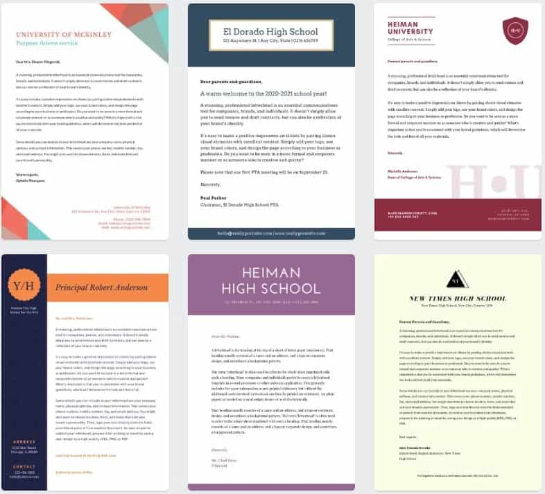 examples of cover letters from canva