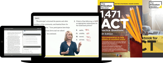 princeton review act course screenshot 1