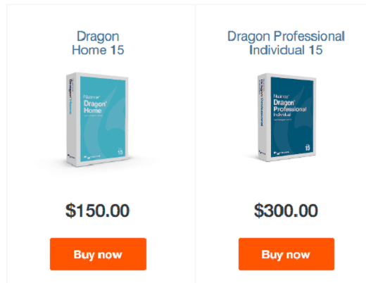 nuance dragon covers and prices