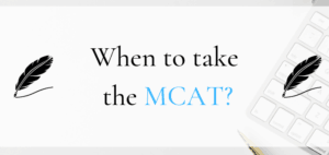 when to take the mcat - featured graphic