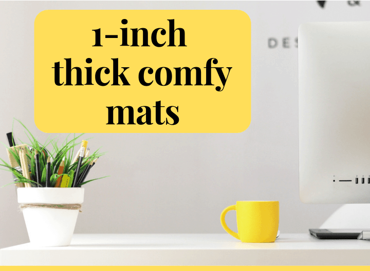 1 inch thick comfy mats - featured image