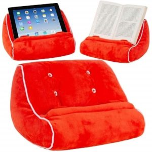 Book Couch Pillow Stand for Reading