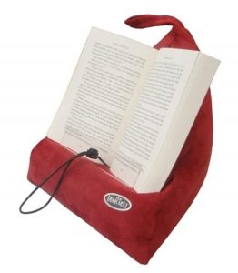 The Book Seat - Book Holder and Travel Pillow