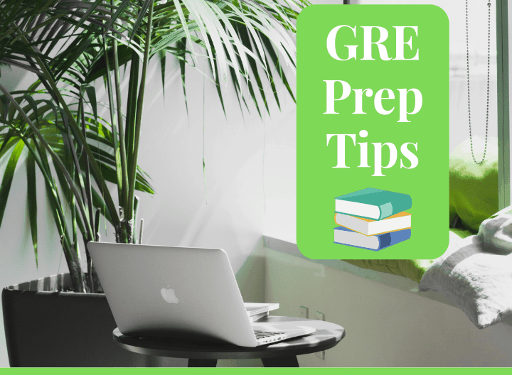 best way to prep for the gre - featured graphic