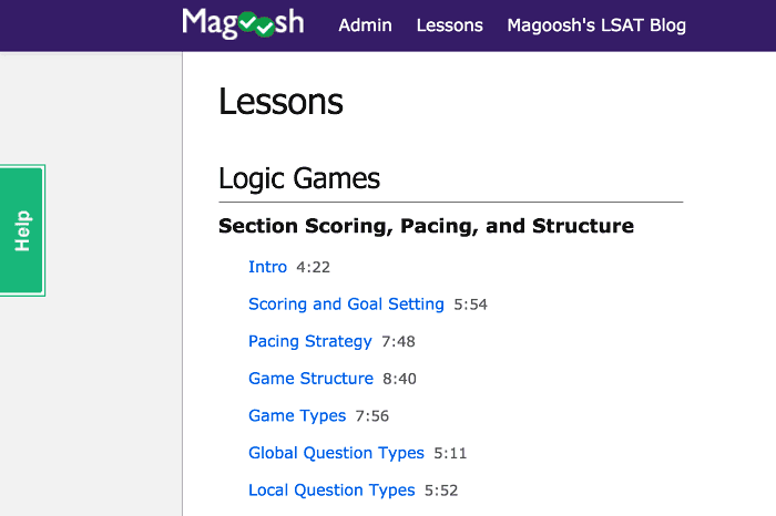 magoosh lsat videos - screenshot