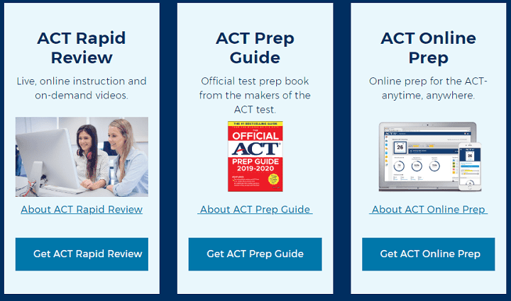 act org free study materials