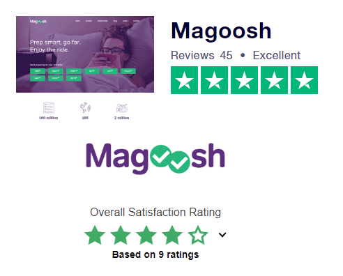 Buy Magoosh Online Test Prep  Colors List