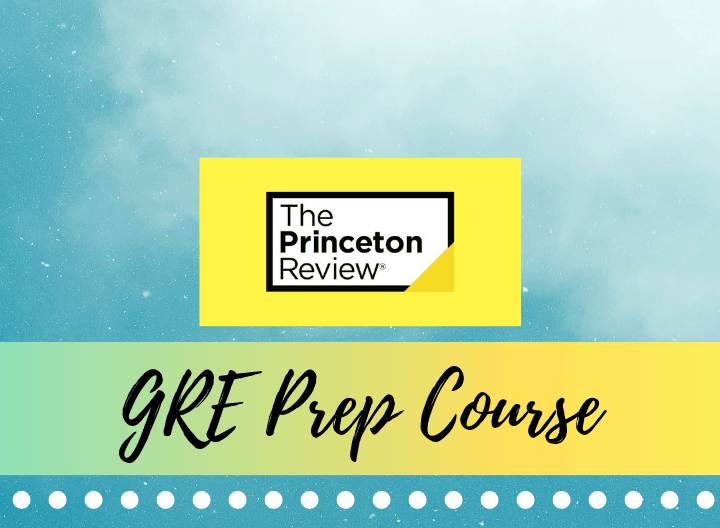 princeton review gre prep course - featured image