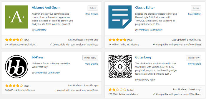 wordpress popular plugins