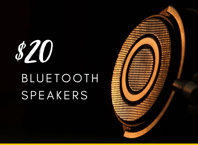 $20 bluetooth speakers - Featured image