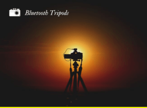 a camera on a tripod - featured image