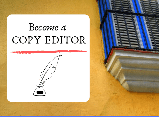become a copy editor - featured image