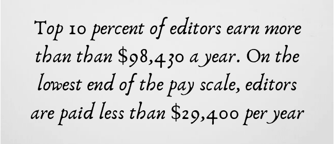 how much editors make per year