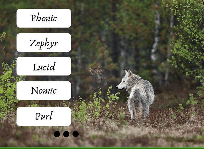 a list of short and pretty words in English - featured image
