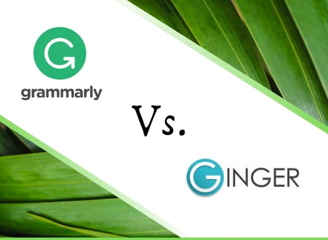 grammarly vs ginger logos - featured image