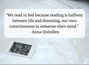kindle holders - featured image with a quote
