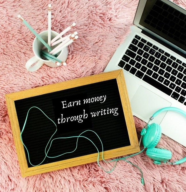 earn money by writing - quote