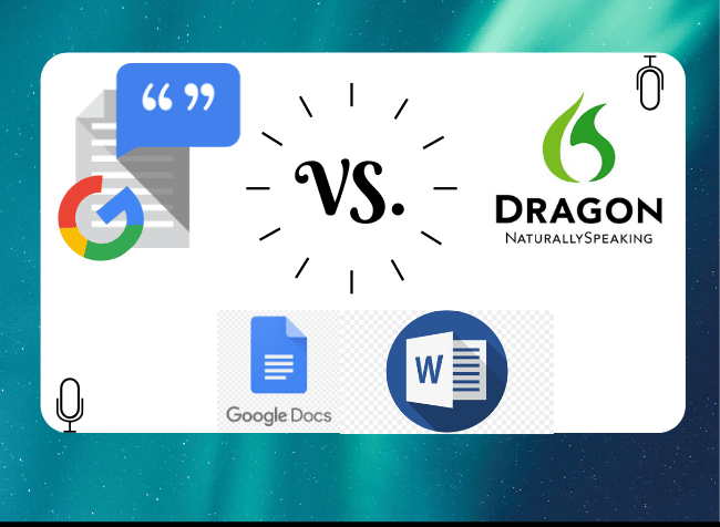 google voice speech to text vs dragon naturally speaking