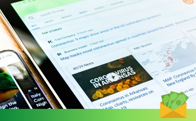 25. Get cash by showing display ads on your blog