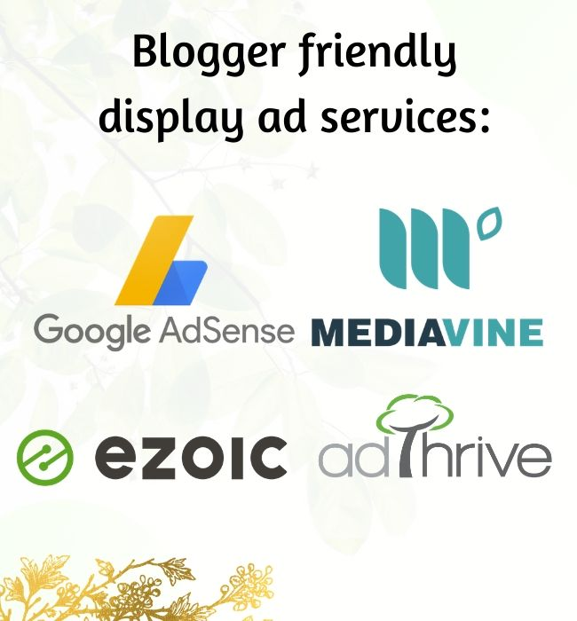 blogger friendly display ads services