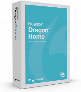 nuance dragon 15 home dictation app for writers