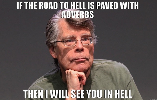 stephen king quote about editing