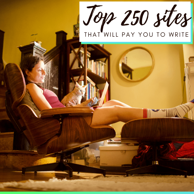 Get paid to write - top sites that pay for writing articles