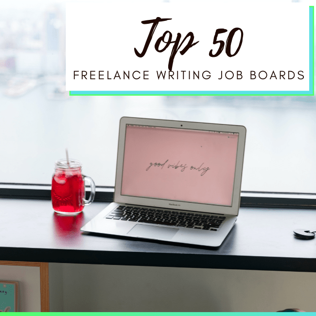 best freelance writing job boards - featured image